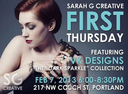 First Thursday at Upswept Creative