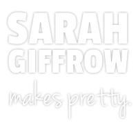 Sarah Giffrow - branding and web designer - professional photographer - Portland, Oregon
