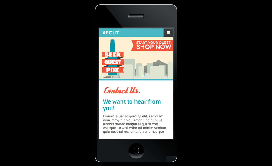 mobile-responsive web design for smartphones